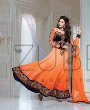 Pictures of Attractive anarkali bollywood suits online - highlifefashion 4