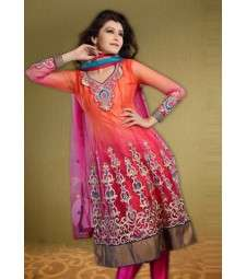 Pictures of Attractive anarkali bollywood suits online - highlifefashion 1