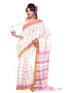 Online shop white pure handloom saris unnati silks