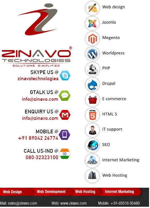 Affordable web design agency los angeles ? zinavo technologies