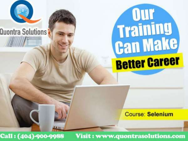 Selenium webdriver online training and placement assistance