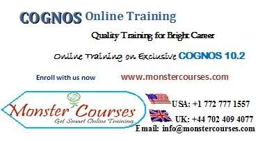 Cognos online training with placements