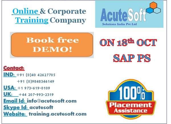 Top sap ps online training sap ps technical course