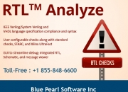 RTL Analysis - Blue Pearl Software