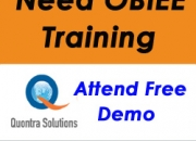 Obiee online training | obiee free demo classes| quontrasolutions