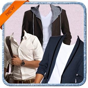 Men fashion photo suit