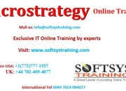 Microstrategy online training, microstrategy 9 training.