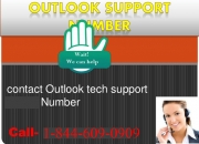 1-844-609-0909 (toll free) Outlook Tech Support Number