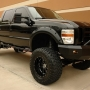 2009 ford f-250 super duty lariat crew cab 6.4l power stroke diesel 4x4 srw long bed