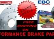 Performance brake parts - free shipping