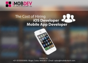 Hire dedicated ios application developers to strengthen your selling