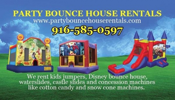 Bounce house rentals sacramento-party bounce