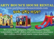 Bounce house rentals sacramento-party bounce
