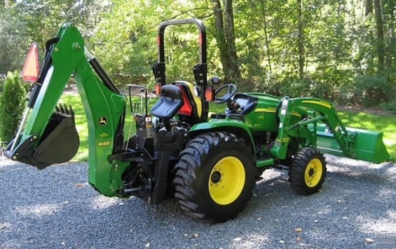 Ganz und zu Extrem 2007 john deere 3320 4wd tractor loader backhoe in Chicago - Home @IN_56