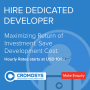 Hire iPhone App Developer On Hourly Basis From CROMOSYS