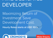 Hire talented mobile app developer at cromosys