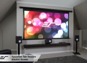 Acknowledge a home theater sensation with elite projection screen
