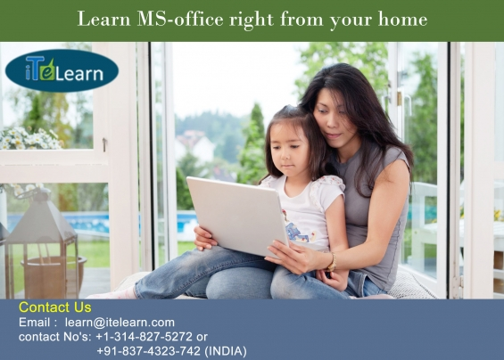 Become expert in microsoft office at itelearn