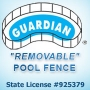 Hanford Removable Mesh Pool Fencing