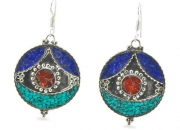 Secret Shrine Tibetan Earrings