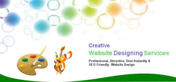 Find creative web designing services at best prices