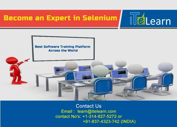 Itelearn provides world's best selenium online training