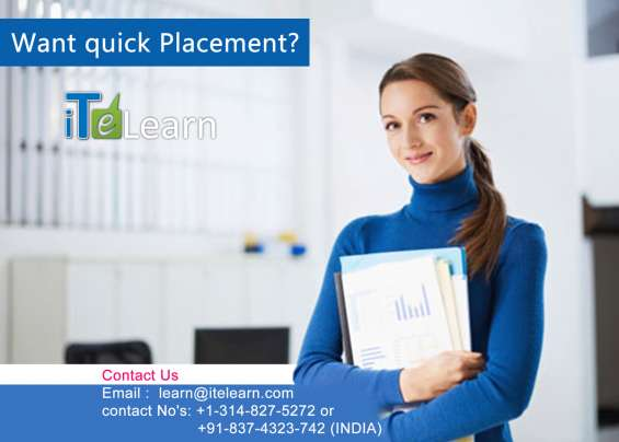 Job placement online training courses at itelearn