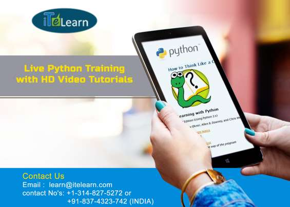 Online training at itelearn on computer programming with python