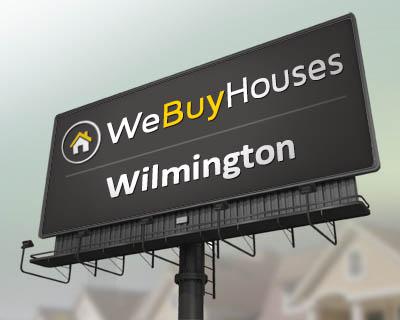 We buy homes in the wilmington
