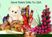 Send delightful Rakhi and gifts to USA and surprise your beloved brother and sister