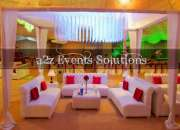 A2z Events Solutions, Yours weddings Planners, Yours Events Planners, Yours Family Functio