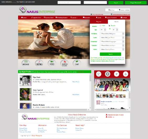 Are you looking for a website for your own matrimonial business????