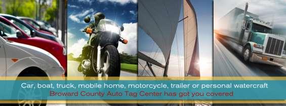 Auto registration services fort lauderdale