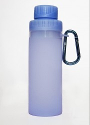 Silicone water bottle for home
