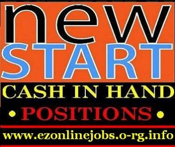 Cash vacancies for high paying positions.