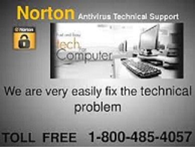 Norton antivirus technical support number 1-800-485-4057