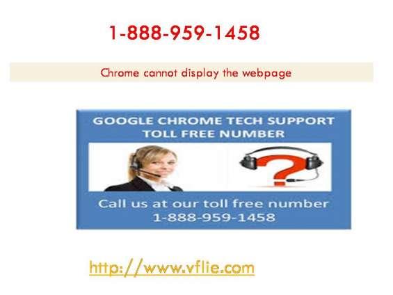 1-888-959-1458#google chrome not loading