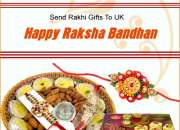 Send the true feelings of loving and caring on this rakhi