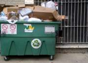 Trash container rental for residential use