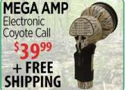 Buy mega amp electronic coyote call from casscreek