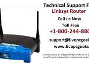 Get technical support for linksys router – call: +1-800-244-8809