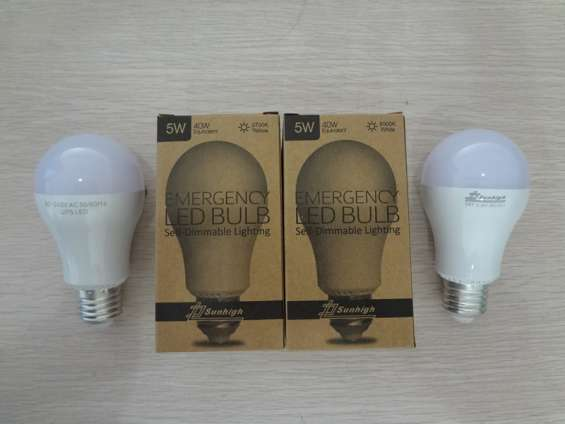 5w 2700k self-dimmable emergency led bulb