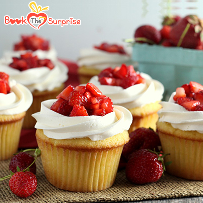 A handful of size making delicious taste are hyderabad cupcakes