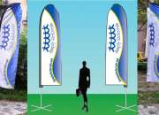 Flying promo & roll-up banners