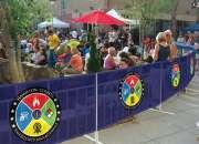 Custom printed fence wrap & outdoor vinyl banners