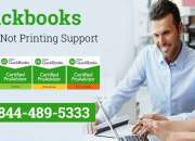 Quickbooks check not printing support number(+1-844-489-5333)