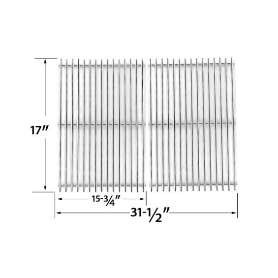 Shop stainless steel cooking grid for xps, uniflame gas grill models