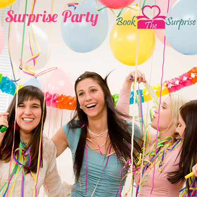 It's time for sureprise party in hyderabad to bounce up the party mood