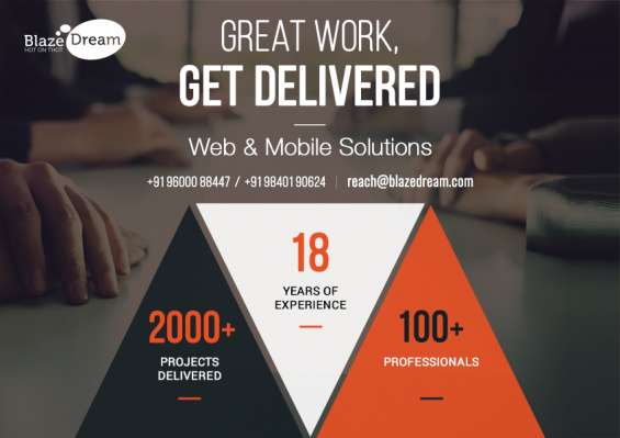 Hire app development agency in us - +91 96000 88447 – call us