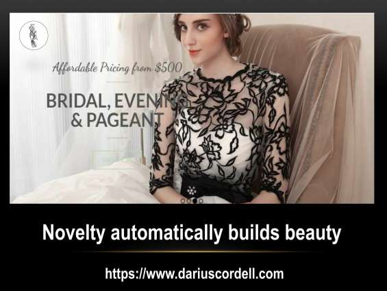 Get the amazing dresses for women from darius cordell